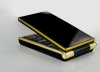 Single Core flip camera - New beautiful flip phone for student old man low cost by DHL good quality
