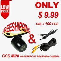 Wholesale CCD Universal Degree wide angle View Reverse Backup packing waterproof Mini Car camera