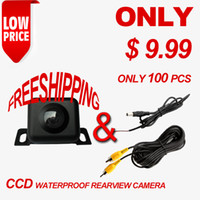 Wholesale Promotion Waterproof CCD Car Rearview Reverse Backup Packing Mini Camera