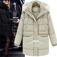 Wholesale Hot Sale Large Size Women Coat Thick Down Jacket Down Girls Long Lamb s Wool Jacket Large Size Women s