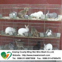 Wholesale high quality rabbit farming cages