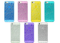 Wholesale D Water Drop Style Protective Plastic Back cell phone cases For iphone cases iphone s c post