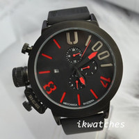 Wholesale Top brand watch famous watches for men automatic sport watch U03 rubber strap mm