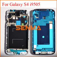 Wholesale For Samsung Galaxy S4 i9505 Front Faceplate Middle Bezel Middle Frame for Samsung Galaxy S4 I9505