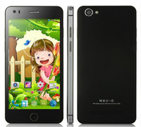 Wholesale Star i6 inch Android OS G MTK6582 Quad Core GB RAM GB ROM GPS OTG WiFi Goophone i5s WCDMA Unlocked Smart Mobile Cell Phone MP
