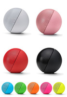 Wholesale Free DHL PILL Speakers Bluetooth audio player Wireless Stereo portable bass speaker Lightweight NFC HIFI colorful sealed box with small box