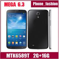 Cheap WCDMA Mega 6.3 Best Quad Core Android I9200