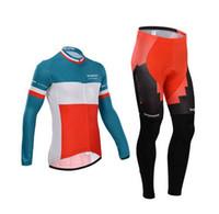 Wholesale Switzerland Long Sleeve Bike Wear BMX Impec Cycling Clothing Long sleeve Bib pants jersey set Men Mountain Bike Jerseys