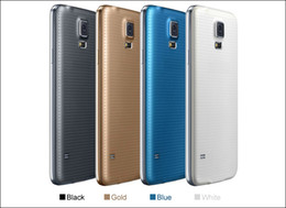 Wholesale S5 i9600 Quad Core MTK6582 Android Inch USB GHZ RAM GB ROM GB SM G900 MP Single Sim G GPS Cell Phone DHL Free