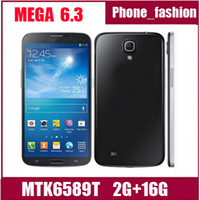 Wholesale N9200 Mega I9200 MTK6589 inch Android Note N9000 Quad Core GPS WiFi GB G Unlocked Smart Mobile Cell Phone