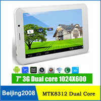 Hot selling 3G 7inch MTK8312 Daul Core Android 4. 2 With GPS ...