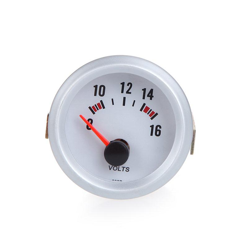 Inline Volt Meter : Car voltage meter gauge voltmeter for auto mm