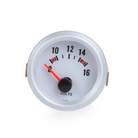analog voltmeters - Car Voltage Meter Gauge Voltmeter for Auto Car quot mm V Blue LED Light DHL K1071
