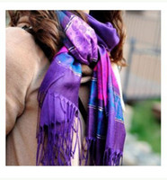 Wholesale Hot Selling Autumn amp Winter Thermal Cashmere Ruffled Pleated Butterfly Print Scarf Cape Shawl Wraps Pashmina