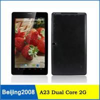 Cheap Allwinner A23 Dual Core 2G phone Tablet with 9inch Cap...