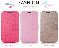 Wholesale New Arrival Luxury Silk Print case Leather cellphone case Cover for samsung for lenovo