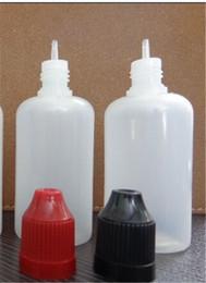 Wholesale 100ml plastic e liquid bottle ml eye drop bottle ml e liquid dropper bottles with long and thin drip tip DHL