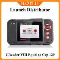 Wholesale 100 Original and good feedback Launch X431 Creader VIII CRP129 and CResetter Oil Lamp Reset too Reader Automotive full System Scan too