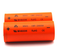 Cheap Original MNKE IMR 26650 Battery MH46698 26650 LIMN Rechargeable Battery 3500mah High Drain Battery for e cigarette mod 50pcs
