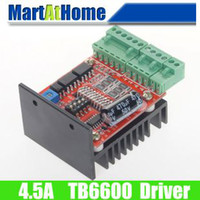 Stepper Motor   Free Shipping CNC Single Axis TB6600 Stepper Motor Driver Board 4.5A for 2-phase Stepper Motor #SM643 @CF