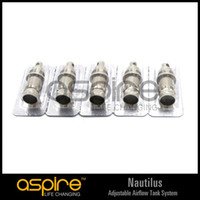 Cheap Original Aspire Replacement Coil for Aspire Nautilus adjustable airflow tank system Pack(5pcs) 1.6ohm 1.8ohm