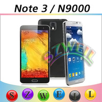 Wholesale NOTE N9000 MTK6582 Android With quot G RAM G ROM MP Camera Smart Flip Case Cell phone MD0561