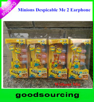 in-ear cute mp3 earphone - 3D Cartoon Minions Despicable Me Earphone Cute Headphone For PC Cellphone MP3