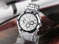 Wholesale Hot Sale CURREN Sports Men Full Steel Watch Adjustable Quartz Analog Stainless Steel Wristwatch Brand Men Watches high quality