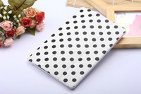 20pcs Polka Dot 3 Folding Thin PU Leather Tablet Case cover ...