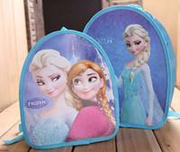 Wholesale 10pcs FROZEN children school bags baby girls schoolbag Children Backpack schoolbag cartoon backpack kids bags