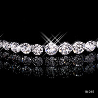 beautiful cheap weddings - 2015 Cheap Crowns Popular Beautiful Hair Cheap Accessories Comb Crystals Rhinestone Bridal Wedding Tiara