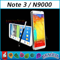 NOTE 3 N9000 MTK6582 Quad Core Android Cell Phone With 5. 7In...