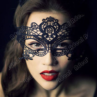 Wholesale New Stunning Masquerade women Eye Mask Lace Fancy Dress Halloween Party SV003077