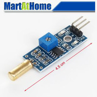 Wholesale 100pcs Angle sensor module Ball switch Tilt sensor module for Arduino Kits BV264 SD