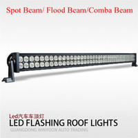 Wholesale 42 quot inch W lm LED Work Light Bar Off Road V Boat LED W Spot Flood Combo Beam Jeep Truck Lamp IP67 Super White