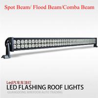 Wholesale 42 quot inch W lm LED Work Light Bar Off Road V Boat LED W Spot Flood Combo Beam Jeep Truck Lamp IP67 Super White