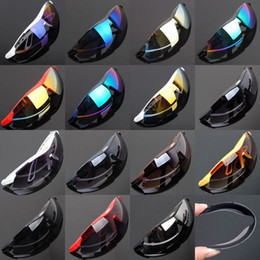 Wholesale 2014 Fashion Sunglasses Cycling Riding Bicycle Sports Eyewear Protective Goggle cool SunGlasses colors man women gifts