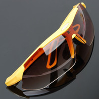 Wholesale 2014 Fashion Sunglasses Cycling Riding Bicycle Sports Eyewear Protective Goggle cool SunGlasses colors man women mixs gifts