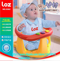 Wholesale Loz baby stool slip resistant bath chair multifunctional dining chair stool seat kids safety seat Safe baby Portable tube