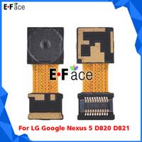 For LG   Wholesale - 50 pcs lot LG Google Nexus 5 D820 D821 Front Facing Camera Flex Cable - Free DHL Shipping Q0160