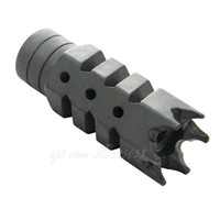 Wholesale Device Compac Muzzle Brake Steel Shark x24 Pitch Thread