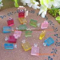 Wholesale CC Perfume Bottles Brand mm flatback resins kawaii cabochon crafts DIY christmas ornament