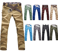 asian skinny jeans - P826 Mens Slim Fit Skinny Stretch Pencil Jeans Trousers Casual Pants Colors Asian Size M L XL XXL