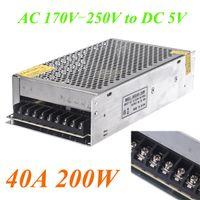 Wholesale AC V V to DC V A W Voltage Transformer Switch Power Supply for Led Strip LED display Billboard Led control H11010