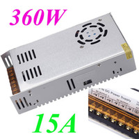 Wholesale 360W A AC V V to DC V Voltage Transformer Switch Power Supply for Led Strip Led Display Led control Led switch H11019