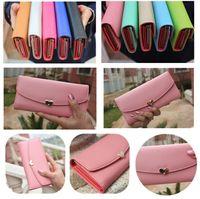 Wholesale Hot New Fashion Women s Wallet PU Leather Women Long Wallet Purse Clutch Wallet Coin Purse H11145