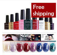 other other other New Arrival shellac gelishgel soak off gel nail color uv Plant nail polish glue set 95colors 24pcs lot high quality free shipping