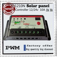 Wholesale New arrival Hot sale PWM Solar Charge Controller Regulator A A A V V Switch Solar Panel amp