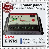 solar panel charge controller regulator - 2014 New arrival Hot sale PWM Solar Charge Controller Regulator A A A V V Switch Solar Panel amp