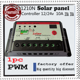 Wholesale 2014 New arrival Hot sale PWM Solar Charge Controller Regulator A A A V V Switch Solar Panel amp